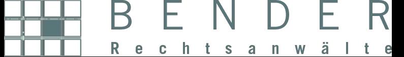 Logo Kanzlei Bender
